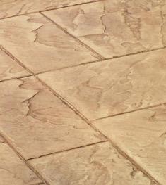 混凝土覆盖压印