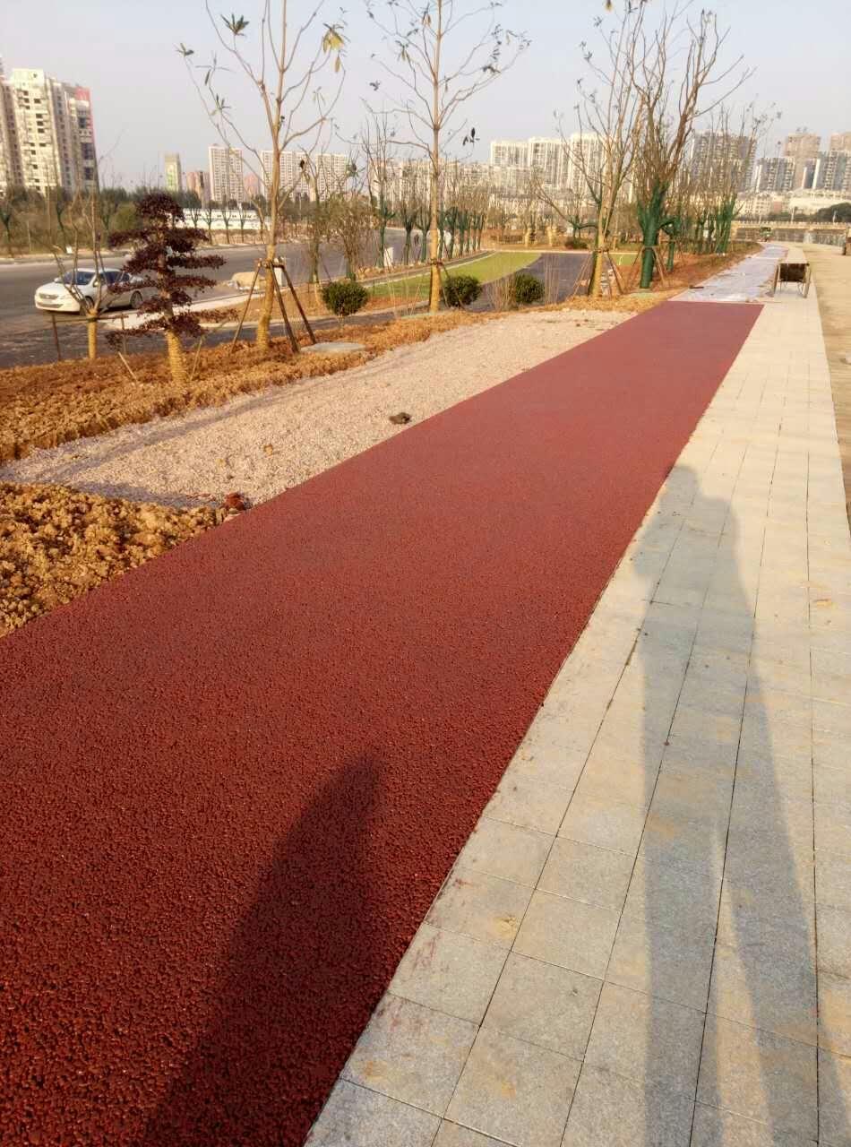 湖南衡阳风光带市政透水路面工程
