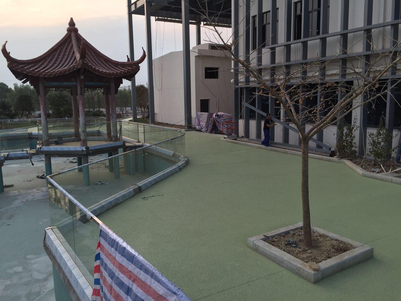 嘉兴平湖透水路面工程