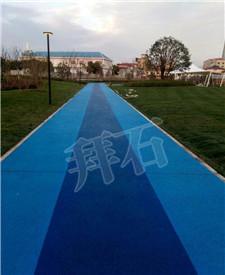 上海张江主题公园透水混凝土工程