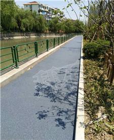 上海徐汇透水路面指导项目