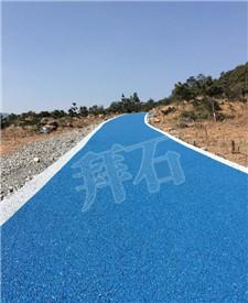 浙江温州龙港彩色透水混凝土项目!