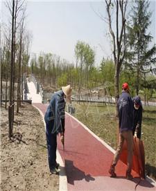 太仓横沥河公园路面工程