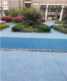 上海海洋大学透水路面项目