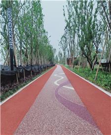 宁波鄞州江东岸滨江景观带露骨料项目