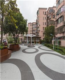 上海金牛苑透水混凝土混凝土项目
