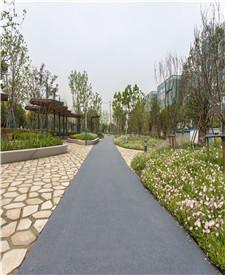 上海吴中路透水路面项目
